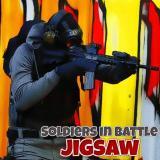Soldiers in Battle Jigsaw